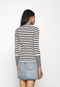Fashion Union - STRIPEY - Trui - black/white - 2