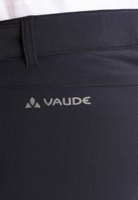 Vaude - WOMEN'S FARLEY STRETCH ZO T-ZIP PANTS 2-IN-1 - Pantalon classique - black - 5