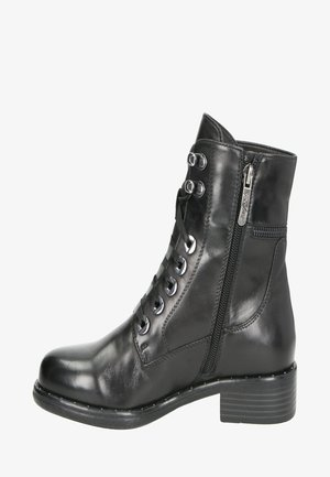 ROXANA - Lace-up ankle boots - zwart