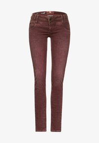 Street One - Straight leg jeans - rot - 3