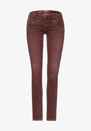 Straight leg jeans - rot