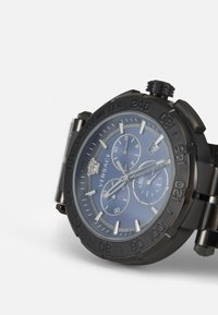 Versace Watches - GRECA - Chronograph watch - gunmetal/blue - 5