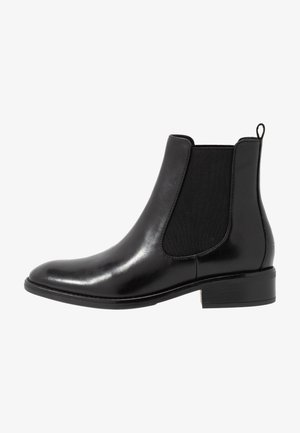 LEATHER CHELSEAS - Classic ankle boots - black