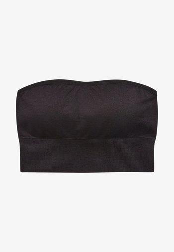 Sujetador sin tirantes/multiescote - black