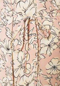 Vila - VIDOTTIES NEW TUNIC DRESS - Shirt dress - misty rose/white - 2