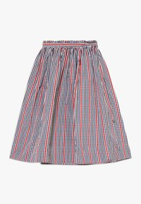 Molo - BRISA - A-line skirt - red/blue - 0