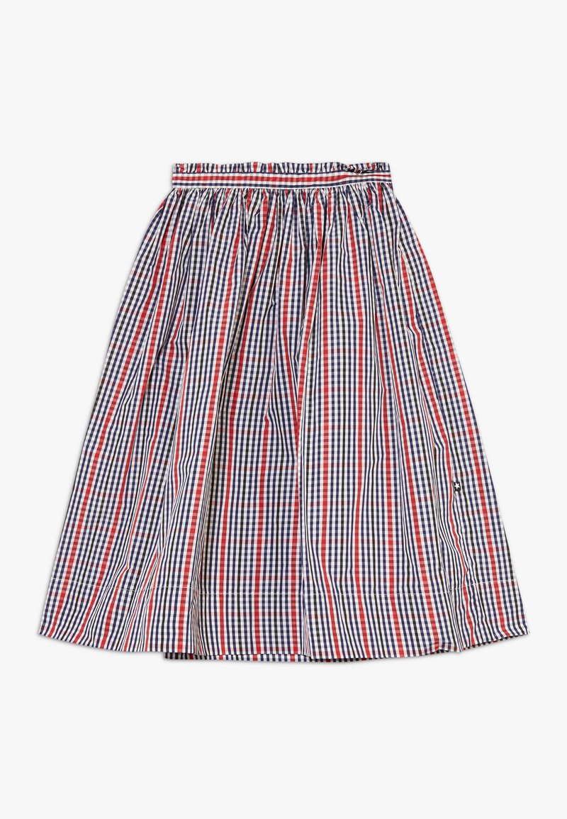 Molo - BRISA - A-line skirt - red/blue