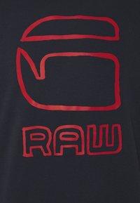 G-Star - GRAPHIC GRAW R SW L\S - Sweatshirt - sartho blue - 5