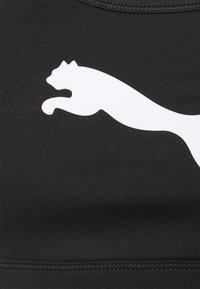 Puma - MID IMPACT - Reggiseno sportivo con sostegno medio - black - 6
