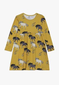 Walkiddy - Žerzejové šaty - dark yellow - 0