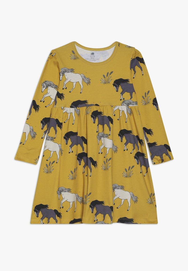 Walkiddy - Žerzejové šaty - dark yellow