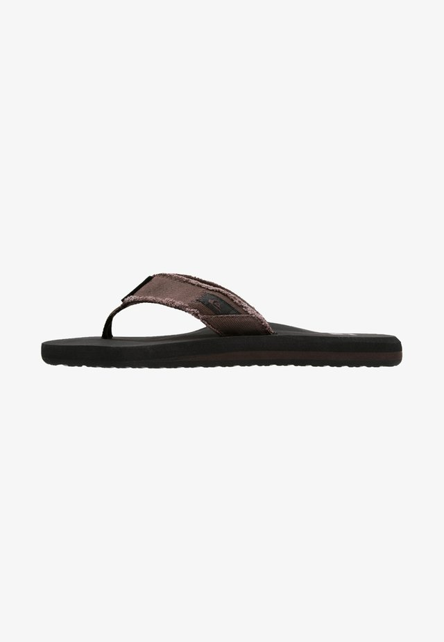 MONKEY ABYSS - T-bar sandals - demitasse