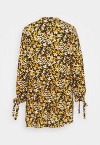 Dorothy Perkins Tall - SPOT SMOCK WOVEN - Tuniek - yellow/black - 6