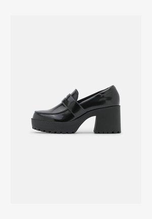 VEGAN DEVON LOAFER - Classic heels - black