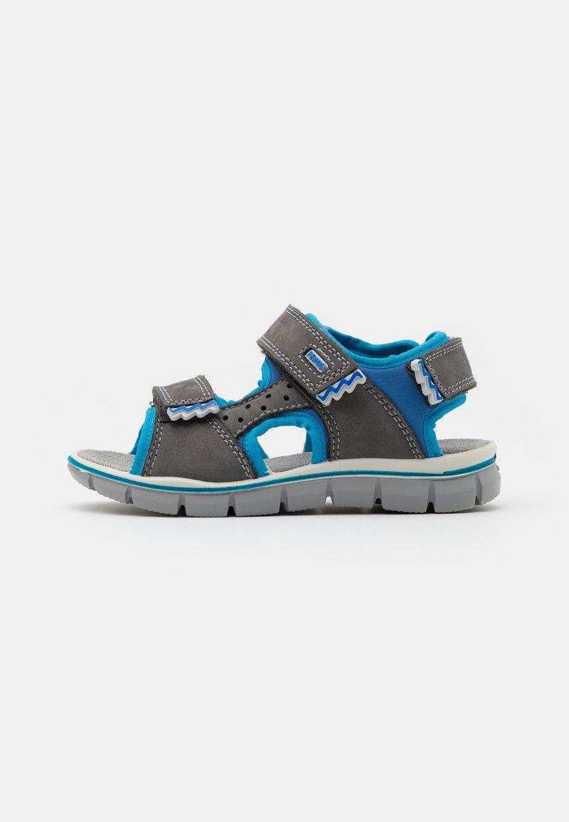 Primigi - Sandals - grigo scuro/azzurro