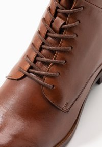Caprice - Lace-up ankle boots - cognac - 2