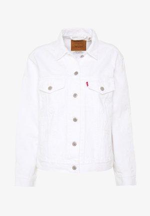 EX-BOYFRIEND TRUCKER - Denim jacket - white