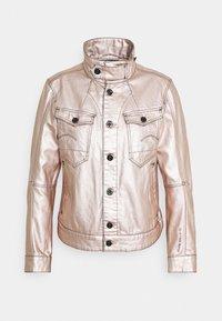 ARC 3D PILOT - Denim jacket - gold