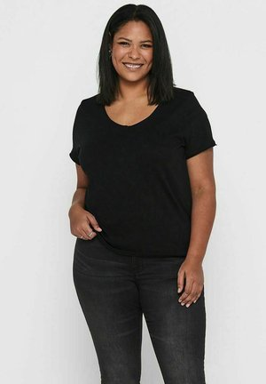 CURVY  - Basic T-shirt - black