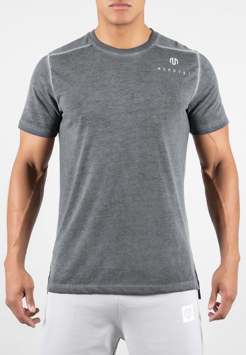 MOROTAI - ACTIVE DRY - Basic T-shirt - black
