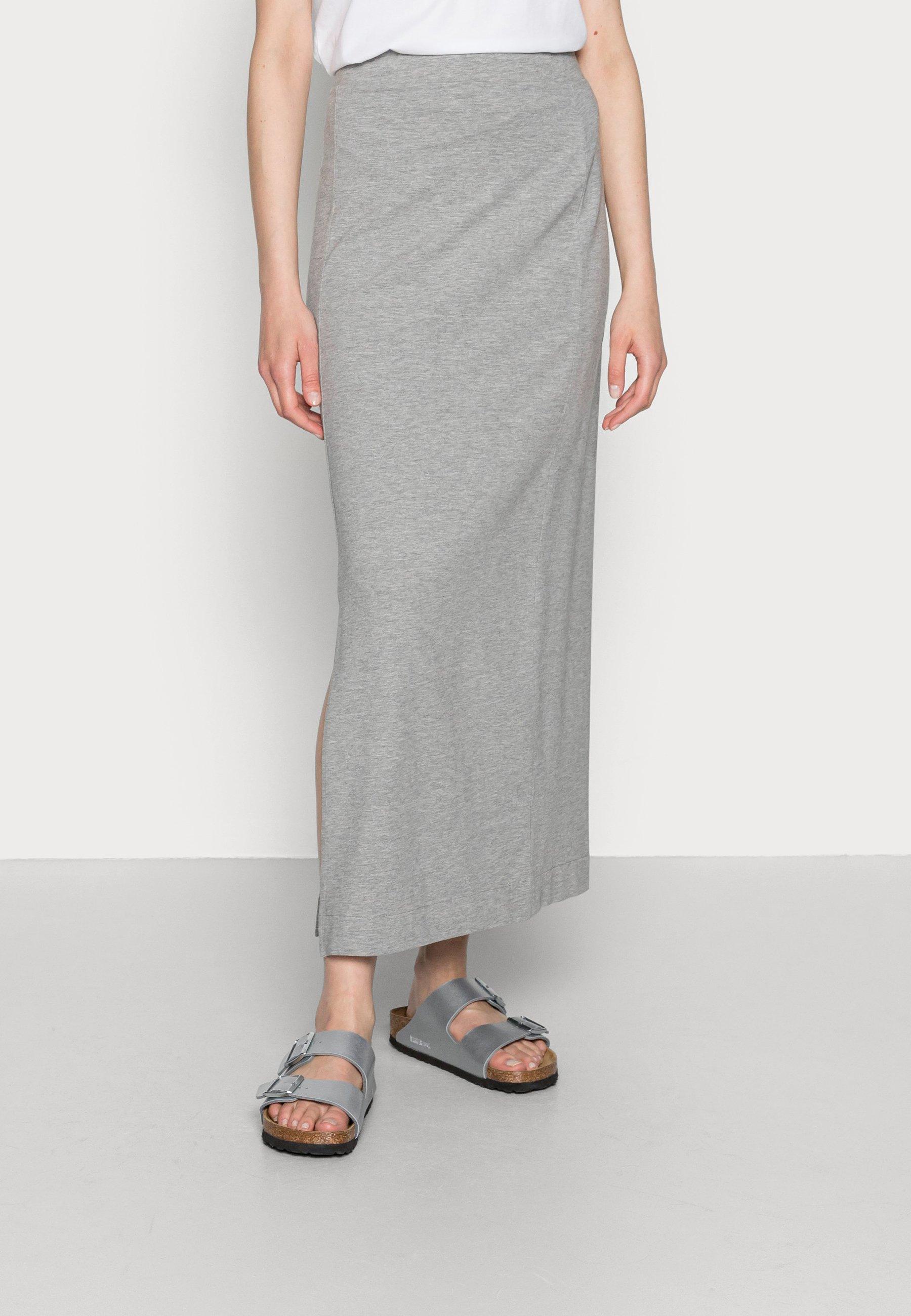 Mujer TUBE SKIRT - Falda de tubo - medium grey