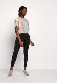 adidas by Stella McCartney - GRAPHIC TEE - Print T-shirt - grey - 1