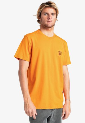 WALLED - Print T-shirt - dusty orange