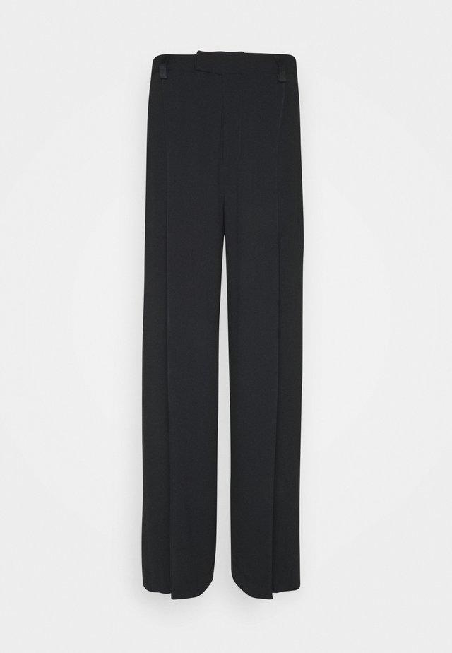 CLAUDIA TROUSER - Kalhoty - black