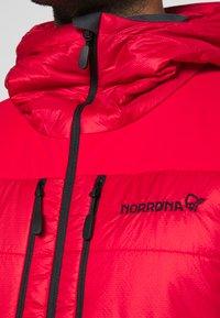 Norrøna - LOFOTEN PRIMALOFT - Winter jacket - red - 4
