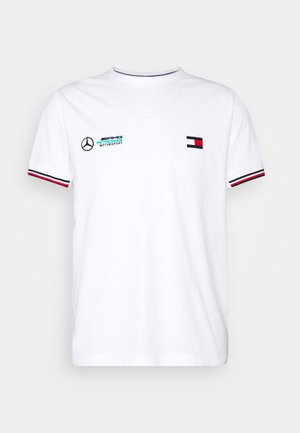 TOMMY X MERCEDES-BENZ - Print T-shirt - white