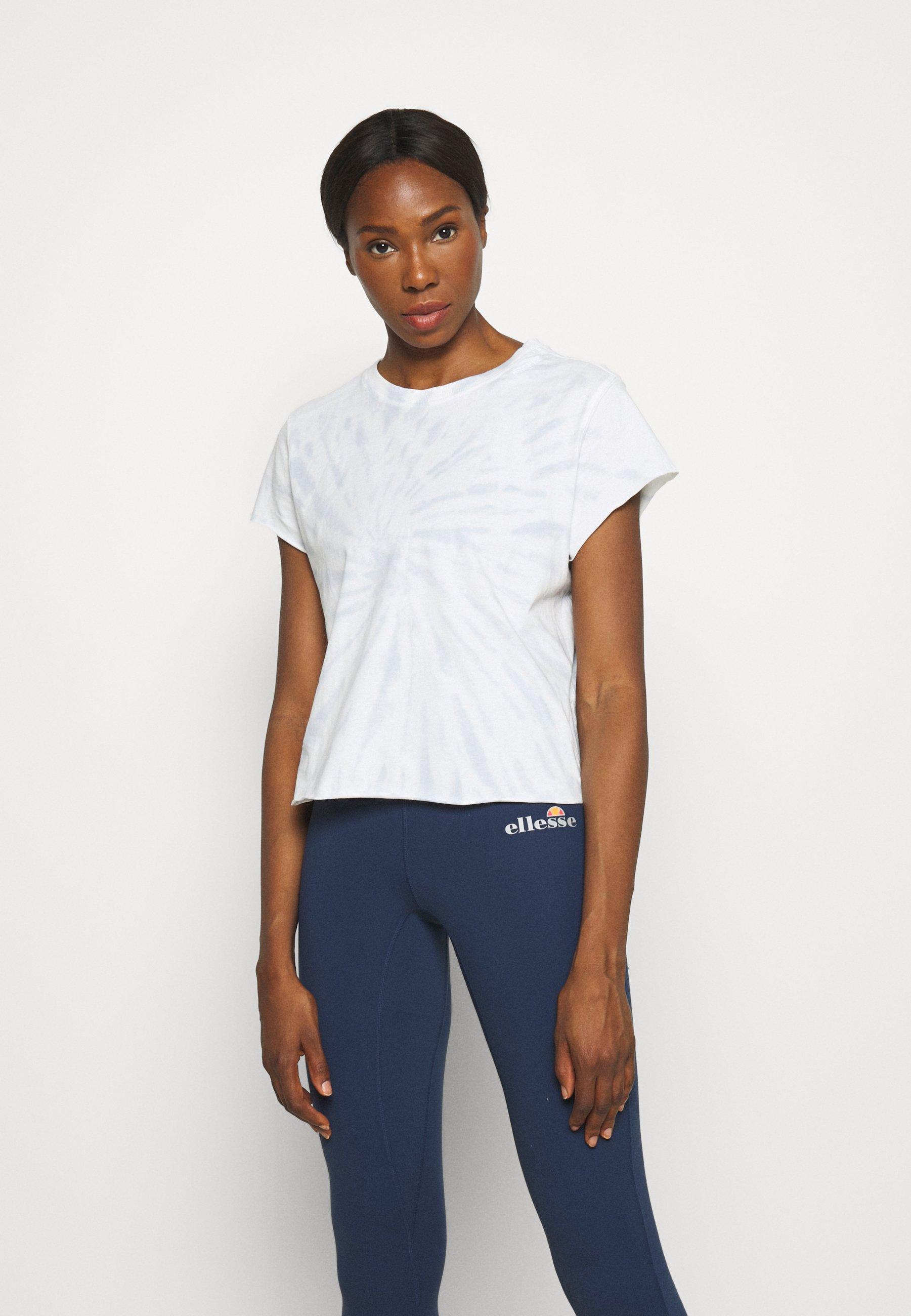 Women SPIRAL TIE DYE SHORT SLEEVE BOXY TEE - Print T-shirt