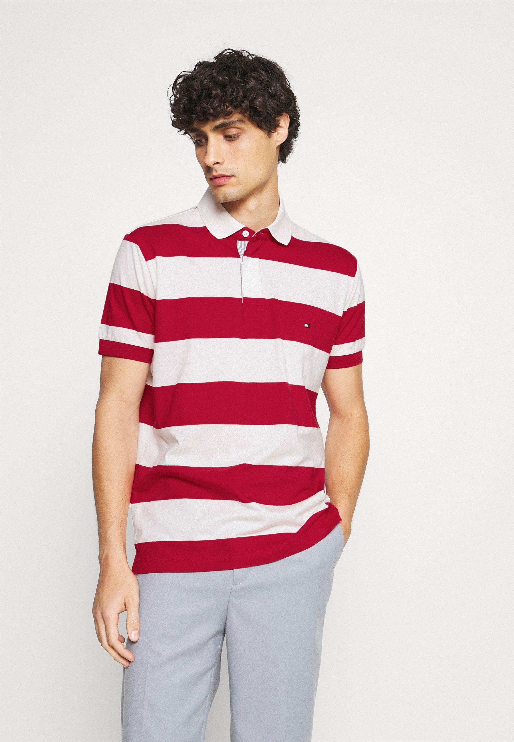 Men RUGBY STRIPE REGULAR - Polo shirt