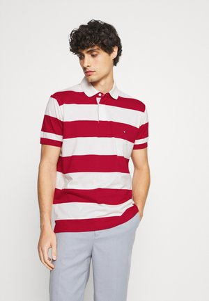 RUGBY STRIPE REGULAR - Polo shirt - primary red/ivory