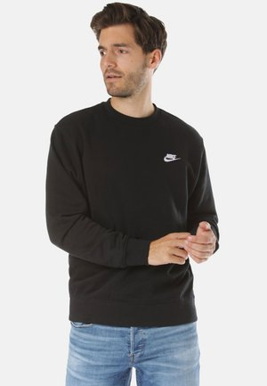 REGULAR FIT - Felpa - black