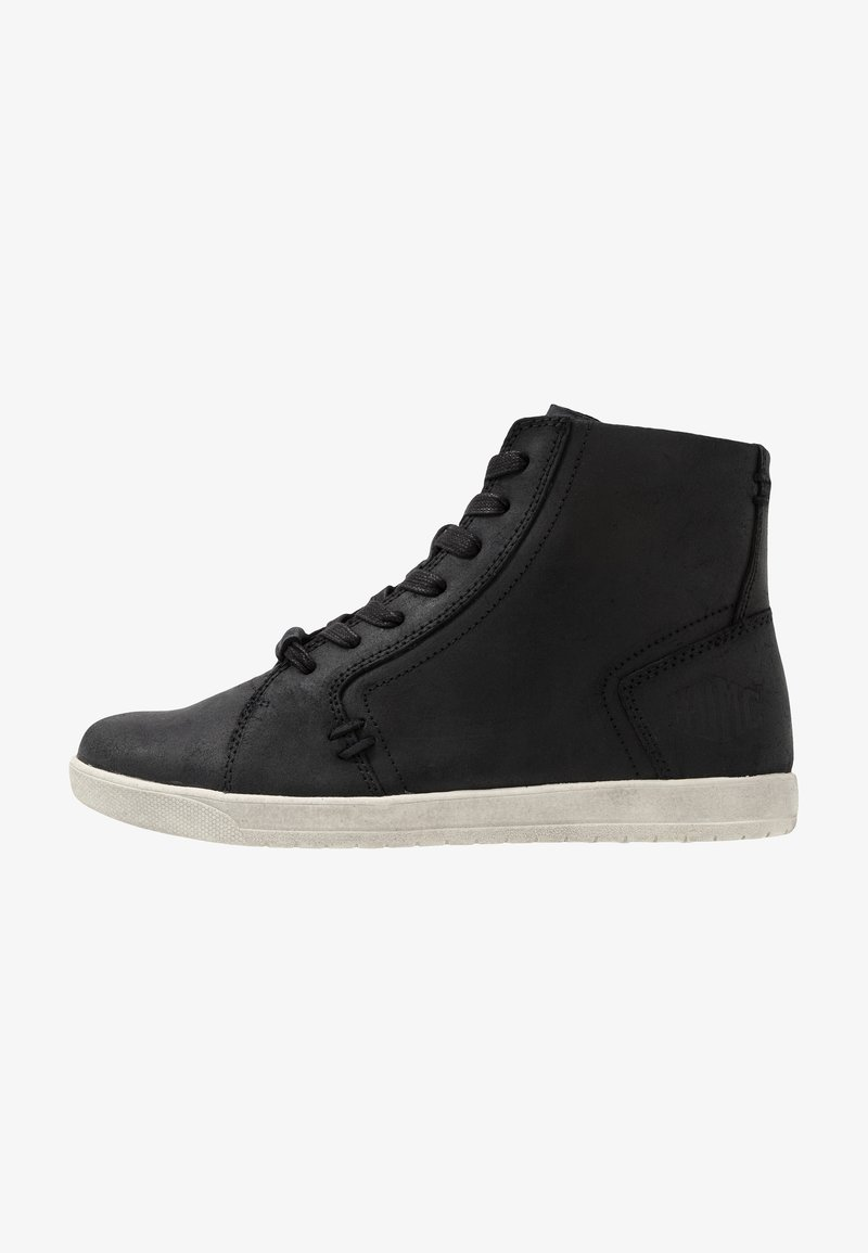 Harley Davidson - PUTNAM - High-top trainers - black