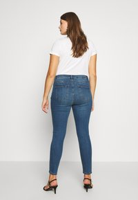 Lost Ink Plus - BUTTON FLY - Jeans Skinny Fit - denim - 2