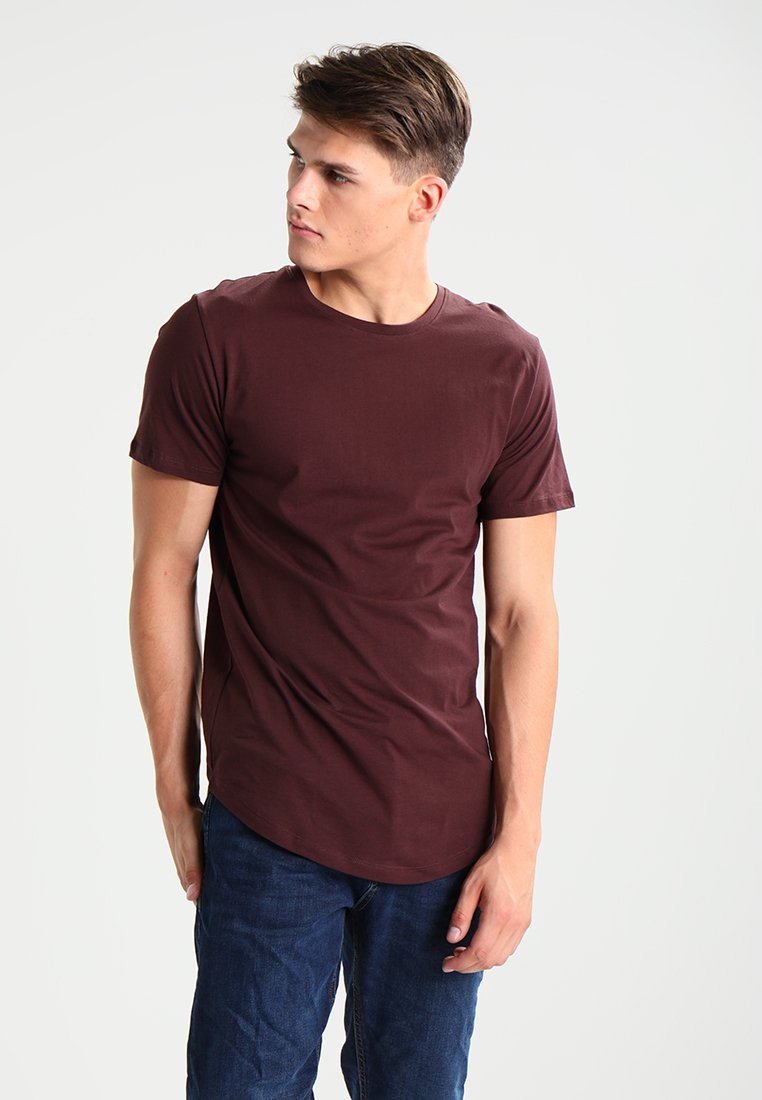 Only & Sons - ONSMATT - T-shirt - bas - fudge