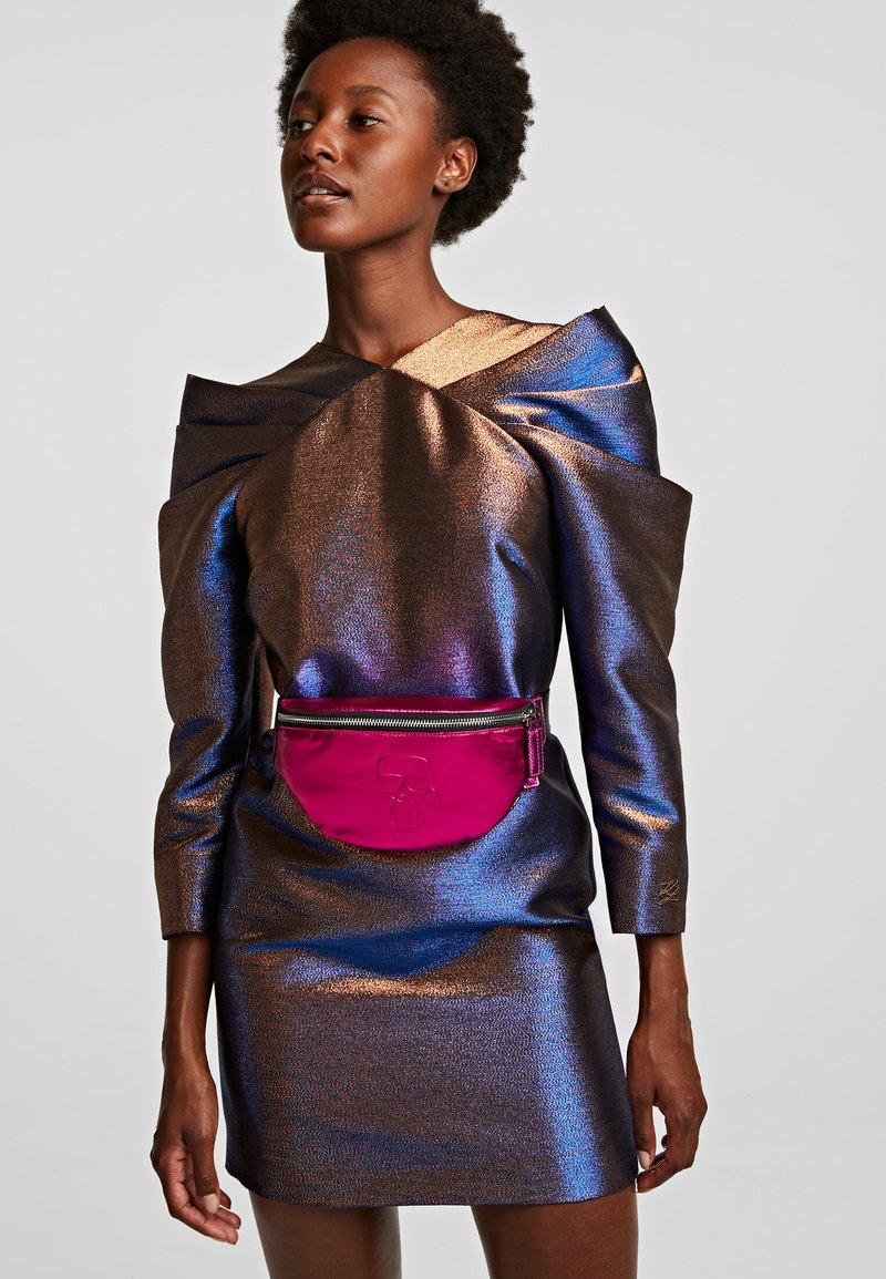 KARL LAGERFELD - Bum bag - metallic f