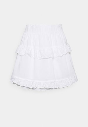 PCLOUDRES SKIRT  - Mini skirt - cloud dancer