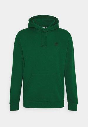 ESSENTIAL HOODY UNISEX - Mikina skapucí - dark green