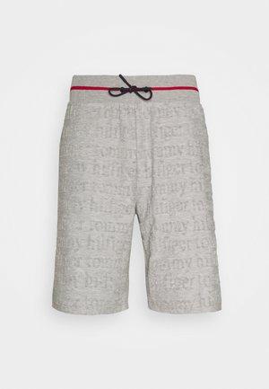 SHORT LOGO - Pyjamabroek - grey