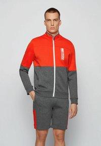 BOSS - SKAZ  - Zip-up sweatshirt - grey - 0