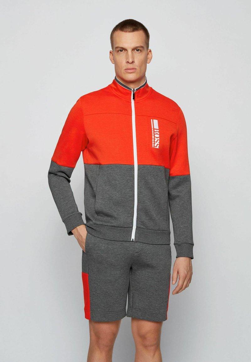 BOSS - SKAZ  - Zip-up sweatshirt - grey