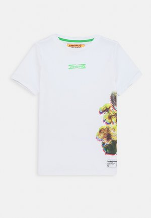HAMIM - T-shirt imprimé - real white