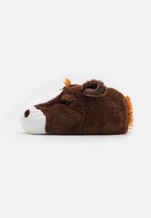 MENS HORSE  - Slippers - brown
