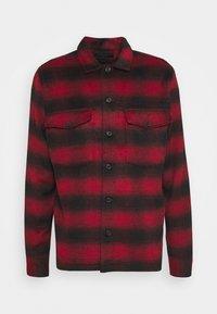 AllSaints - BETHUNE  - Shirt - red/black - 4