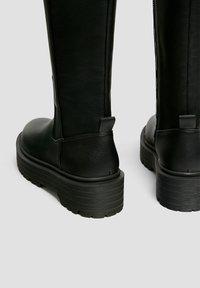PULL&BEAR - Platform boots - black - 2
