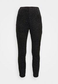 Never Fully Dressed - GLITTER DYNASTY TROUSER - Kalhoty - black - 4