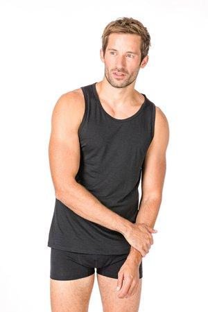 SUPER.NATURAL MERINO TANKTOP M BASE TANK 140 - Sports shirt - black