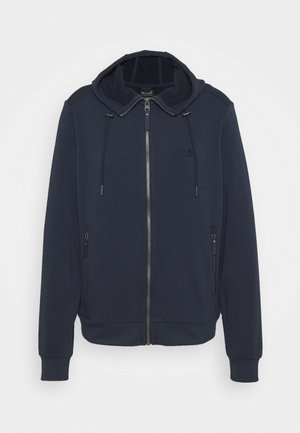 COAST JACKET - veste en sweat zippée - midnight blue